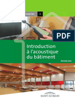 Introduction Acoustique des Batiments
