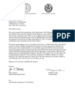 Letter to DCP Requesting Scoping Documents in Spanish and Chinese