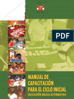 Manual Capacitación Ciclo Inicial EBA