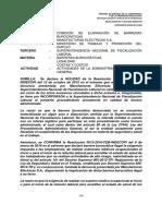 RES 0517-2016SDC-InDECOPI Barrera Burocrática Examen Medico Ingreso NO ALTO RIESGO