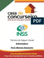 Apostila Inss 2016 - Informatica - Marcio Hunecke