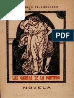 Las Garras de la Pantera (Francisco Villaespesa, 1912)