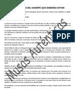 COMPONENTES DEL CHAMPÚ QUE DEBERÍAS EVITAR.pdf