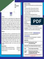 Brochure MNLU 12