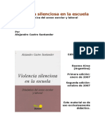 Castro Santander Cap 2 Violencia Silenciosa Dinamica Del Acoso Escolar y Laboral