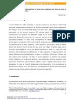 Herramientas Para El Análisis Político Del Plano Extra-lingüístico Del Discurso Desde La Perspectiva de Ernesto Laclau, Hernán Fair