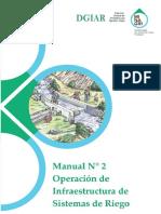 Manual Operacion y Mantenimiento Sistema de Riego Modificado