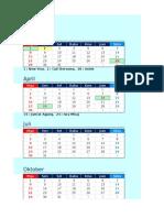 Kalender 2017 Dalam Format Indonesia