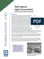 Natural Sun Concentrator