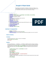 Google's R Style Guide
