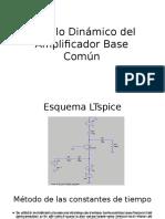 Modelo Dinámico Del Amplificador Base Común