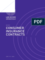 Consumer Insurance Contracts Report 2015
