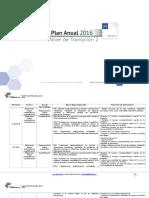 Planificacion Anual Matematica Nt2 2016
