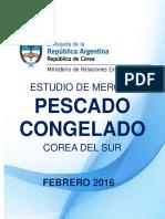 Estudo de Mercado Pescado Congelado Feb 2016