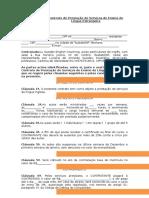 Contrato de Prestação de Serviços de Aulas Particulares de Inglês