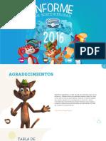 Informe de Sostenibilidad 2016- Alpina