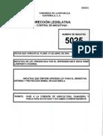 Iniciativa Que Dispone Aprobar Ley Para El Bienestar