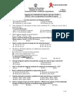 Química Enuciado 12cla 1ªép 2012