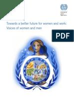 Un Towards a Better Future for Woman