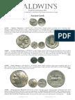 Baldwins Fixed Price List Summer 2014 - 01 - ANCIENT COINS