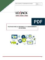 Políticas Para El Desarrollo Y_o Mantenimiento de Sistemas