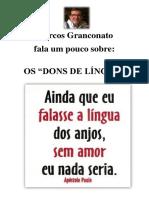 Dons de Língua - Marcos Granconato