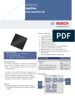 Circuito Lambda Interface Cj135 - Bosch