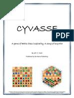 Cyvasse Rules Illustrated
