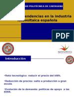 Evolucion y Tendencias en La Industria Fotovoltaica Espanola