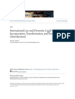 Dinah Shelton__International Law and Domestic Legal Systems- Incorporation, Transformation, And Persuation (Introduction) (Scholarship.law.Gwu.edu)