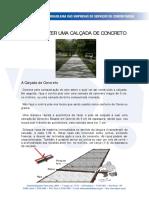 Como Fazer Calçadas de Concreto