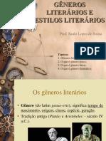 Gêneros e Estilos Literários