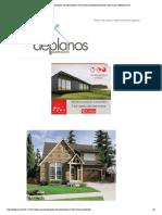 Linda Casa de Dos Pisos, Tres Dormitorios y 206 Metros Cuadrados Planos de Casas Gratis _ DePlanos