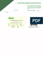 teaching certificate012