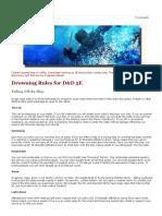 D&D 5E – Drowning