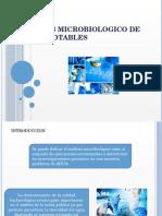 Anàlisis Microbiologico de Aguas Potables