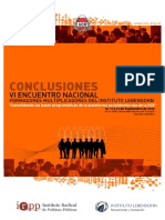 Formadores Multiplicadores Conclusiones Tucuman IML
