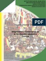 Gpc Imss Diagnostico y Tratamiento de La Cardiopatia Isquemica Cronica