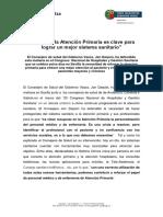 Nota Prensa Congreso Hospitales