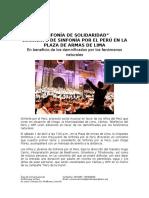Sinfonía de Solidaridad