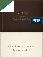 Gucci sustainibility