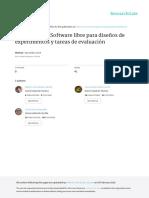 OpenSesame Software Libre Para Diseños de Experimentos y