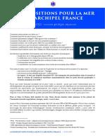 61 Propositions pour la Mer et l'Archipel France - Karine Claireaux