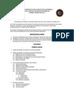 Programa Derecho i 2017