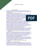 Cuestionario sobre Calentamiento Global.doc