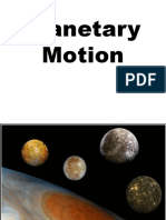 Planetary Motion
