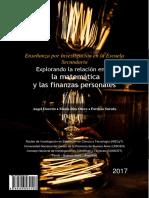 Enseñanza Por Investigación en La Escuela Secundaria- Explorando La Relación Entre La Matemática y Las Finanzas Personales