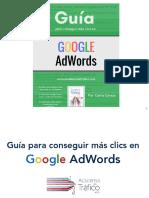 Gu c3 Ada Para Conseguir Clic s en Google Adwords
