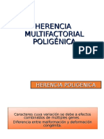 10. Herencia Multifactorial Poligénica
