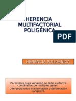 10. Herencia Multifactorial Poligénica